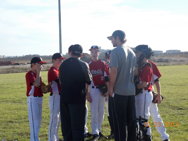 13u Team Huddle