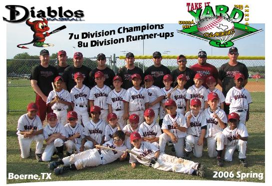 Diablos win 7u/8u Championship