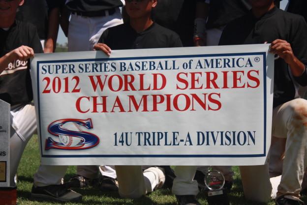 2012 14u World Series Champions